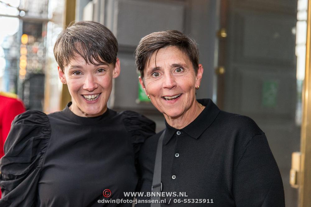 NLD/Amsterdam/20190916 - Prinses Irene viert verjaardag bij een ode aan de natuur , Anne van Veen en partner Han Bosman