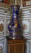Detail from the Vatican Museums, an immense collection of classical, renaissance masterpieces etc. Founded in the early 16th century by Pope Julius II they are considered to be some of the world's greatest museums. This image shows a highly decorative vase.