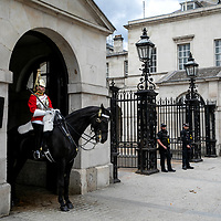 Horseback Guards;<br />