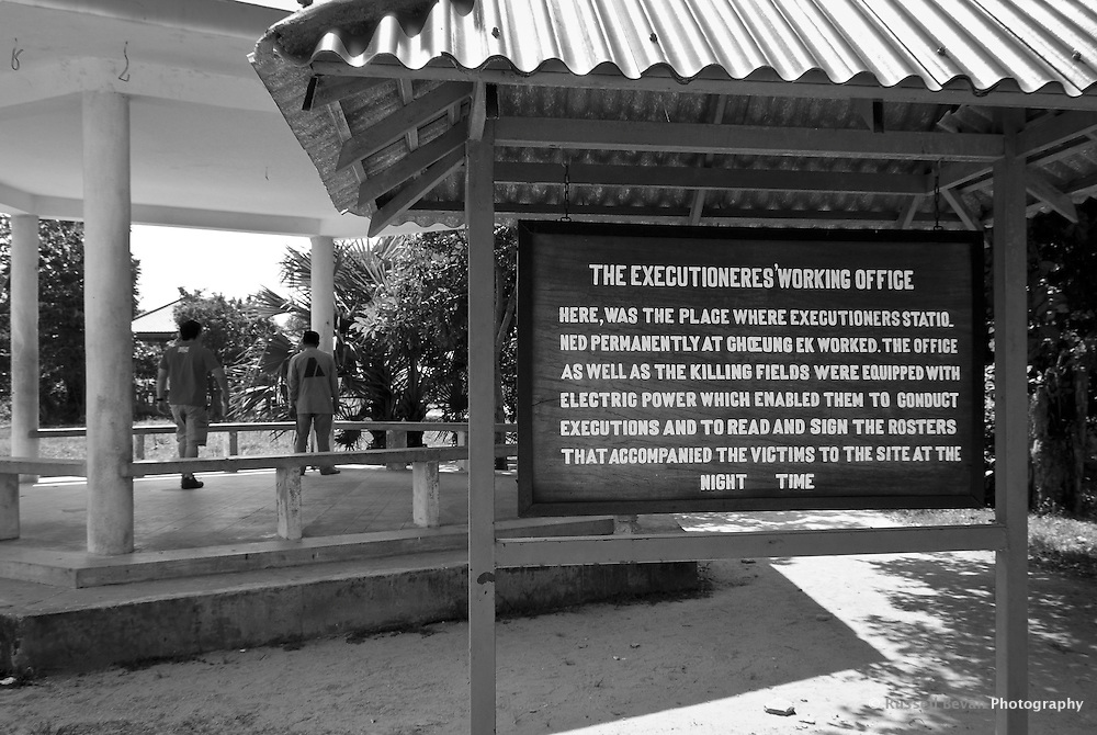 The executioners working office at Choeung Ek, 17 km South of Phnom Penh, Cambodia