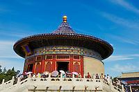 Chine, Pékin (Beijing), Temple du Ciel classé Patrimoine Mondial de l'UNESCO, le hall des echos // China, Beijing, Temple of Heaven, Unesco world heritage, The Huang Qiong Yu also called the Echo Hall