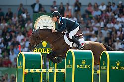 Rolf-Goran Bengtsson (SWE), Orient Express HDC - Show Jumping Final Four - Alltech FEI World Equestrian Games™ 2014 - Normandy, France.<br /> © Hippo Foto Team - Jon Stroud<br /> 07/09/2014