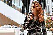 Koningin Maxima opent nieuw duurzaam gerenoveerde kantoor van de Goede Doelen Loterijen<br /> <br /> Queen Maxima opens new, sustainably renovated office of the Charity Lotteries<br /> <br /> Op de foto / On the photo:  Quinty Trustfull