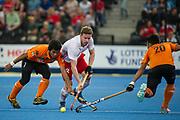 Michael Hoare. England v Malaysia - 3rd/4th Playoff - Hockey World League Semi Final, Lee Valley Hockey and Tennis Centre, London, United Kingdom on 25 June 2017. Photo: Simon Parker