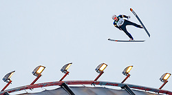 01.03.2017, Lahti, FIN, FIS Weltmeisterschaften Ski Nordisch, Lahti 2017, Nordische Kombination, Skisprung, Grossschanze HS130 m, im Bild David Pommer (AUT) // David Pommer of Austria during Skijumping competition of Nordic Combined of FIS Nordic Ski World Championships 2017. Lahti, Finland on 2017/03/01. EXPA Pictures © 2017, PhotoCredit: EXPA/ JFK