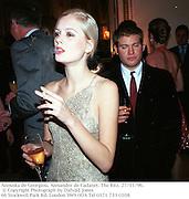 Anouska de Georgiou, Alexander de Cadanet. The Ritz. 27/11/96.  © Copyright Photograph by Dafydd Jones<br />66 Stockwell Park Rd. London SW9 0DA<br />Tel 0171 733 0108