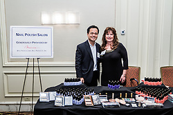 IRVINE, CA - MARCH 2:  Corporate donor Missi display their products at the Working Wardrobes Dream Girls & Distinguished Gentlemen 2013 event at the Irvine Hilton in Irvine, CA. Working Wardrobes (http://www.workingwardrobes.org) is a non-profit organization located in Costa Mesa, CA. PHOTO: © 2013 SILVEX.PHOTOSHELTER.COM.