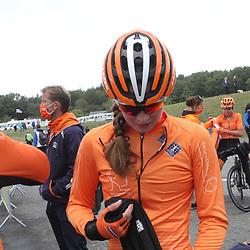 28-08-2020: Wielrennen: EK wielrennen: Plouay<br /> Ilse Pluimers is haar Europese titel kwijt