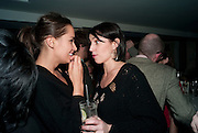 SASHA VOLKOVA; ASSIA WEBSTER, Polly Morgan 30th birthday. The Ivy Club. London. 20 January 2010