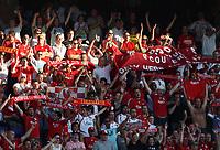 Photo: Maarten Straetemans.<br /> Feyenoord v Liverpool. Rotterdam Tournament. 05/08/2007.<br /> Liverpool fans