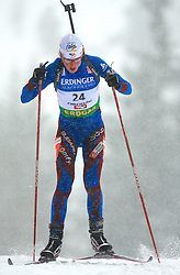 Sandrine Bailly (FRA) at Women 15 km Individual at E.ON Ruhrgas IBU World Cup Biathlon in Hochfilzen (replacement Pokljuka), on December 18, 2008, in Hochfilzen, Austria. (Photo by Vid Ponikvar / Sportida)