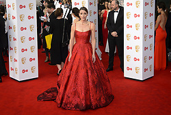 Suranne Jones arriving for the Virgin TV British Academy Television Awards 2017 held at Festival Hall at Southbank Centre, London.