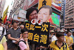 April 28, 2019 - Hong Kong, CHINA - Thousands of Hong Kong citizens participated in the NO EXTRADTION TO MAINLAND CHINA PARADE on Sunday.April-28,2019 Hong Kong.ZUMA/Liau Chung-ren (Credit Image: © Liau Chung-ren/ZUMA Wire)