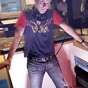 Radio Station WZZO's Disk Jockey Chris Line
