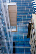 New modern highrise building on 22 Rothschild  boulevard, Tel Aviv, Israel