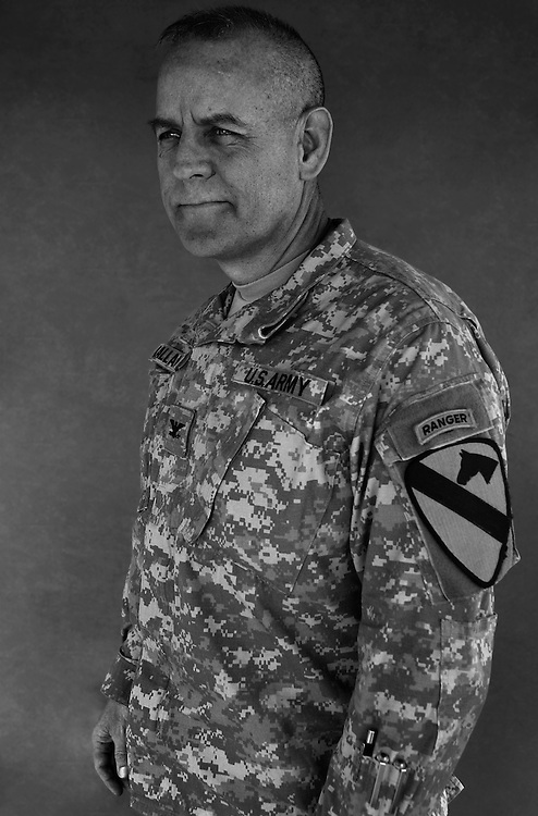 Colonel John Ballantyne, 51. Belton, TX. Chief of Staff, 1st Cavalry Division. Taken at Camp Liberty, Baghdad on Friday May 25, 2007.