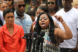 June 16, 2017 - St. Paul, MN, USA - United States - Valerie Castile, mother of Philando Castile,  spoke with passion about her reaction to a not guity verdict for Officer Jeronimo Yanez at the Ramsey County Courthouse in St. Paul, Minn., on Friday June 16, 2017. ] renee.jones@startribune.com • RENEE JONES SCHNEIDER  (Credit Image: © Renee Jones Schneider/Minneapolis Star Tribune via ZUMA Wire)