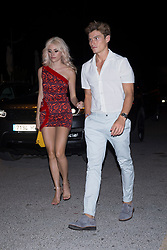 Global Gift Gala party at STK Ibiza . 21 Jul 2017 Pictured: Pixie Lott, Oliver Cheshire. Photo credit: MEGA TheMegaAgency.com +1 888 505 6342