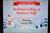 Driehaus Holiday Party 2016