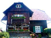 Austrian home, Walser style