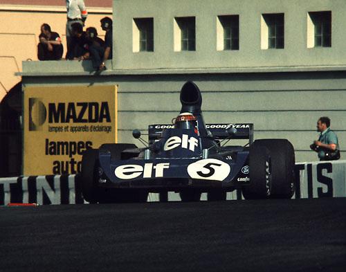 Sir Jackie at Monaco 1973; Photo by Pete Lyons 1973/ © 2014 Pete Lyons / petelyons.com