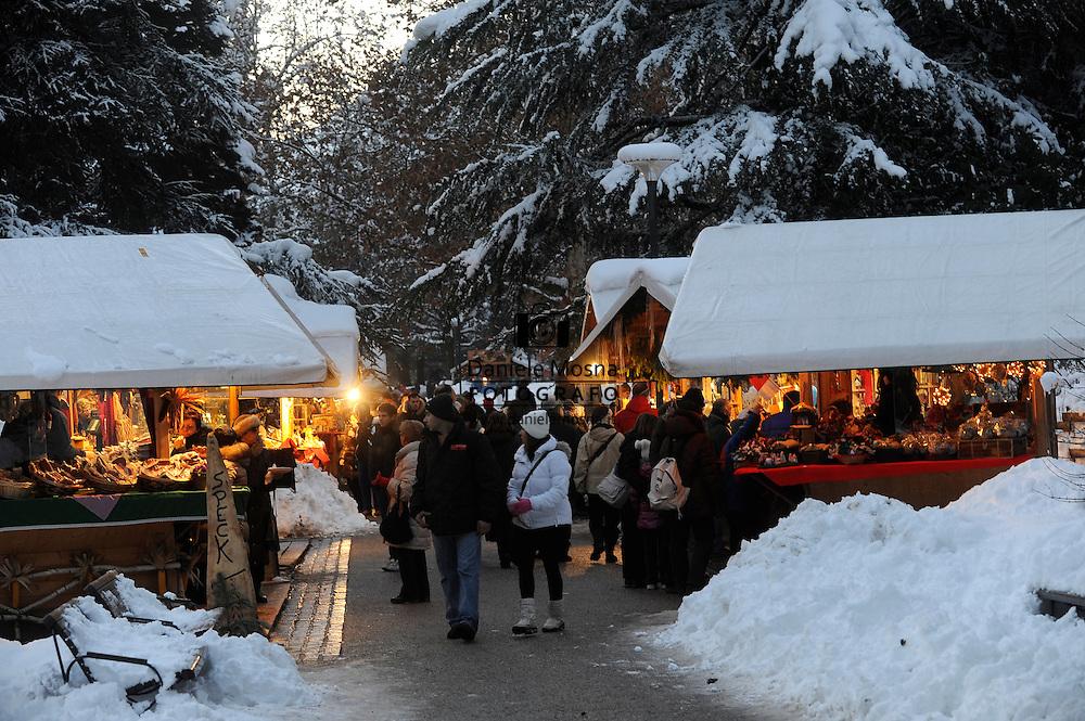 Mercatini di Natale a Levico Terme, 4 Dicembre 2010 © foto Daniele Mosna