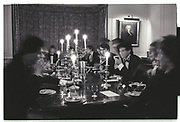Vole Traders dining club. Exeter college. Oxford. 1980