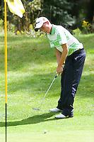 DEN DOLDER - Michael Kraaij tijdens het NK Strokeplay golf op Golfsocieteit  De Lage Vuursche. COPYRIGHT KOEN SUYK