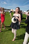 ANOUK LEPERE, Cartier International Polo. Smiths Lawn. Windsor. 24 July 2011. <br /> <br />  , -DO NOT ARCHIVE-© Copyright Photograph by Dafydd Jones. 248 Clapham Rd. London SW9 0PZ. Tel 0207 820 0771. www.dafjones.com.