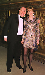 LORD & LADY LLOYD-WEBBER at a banquet in Surrey on 12th November 1998.MLX 93