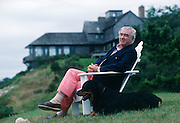 Henry Luce III at his home in Long Island.  He founded the Henry Luce Foundation which seeks to encourage academic innovation and creativity.