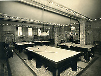 1926 Billiard Room at Garden Courts Apt.