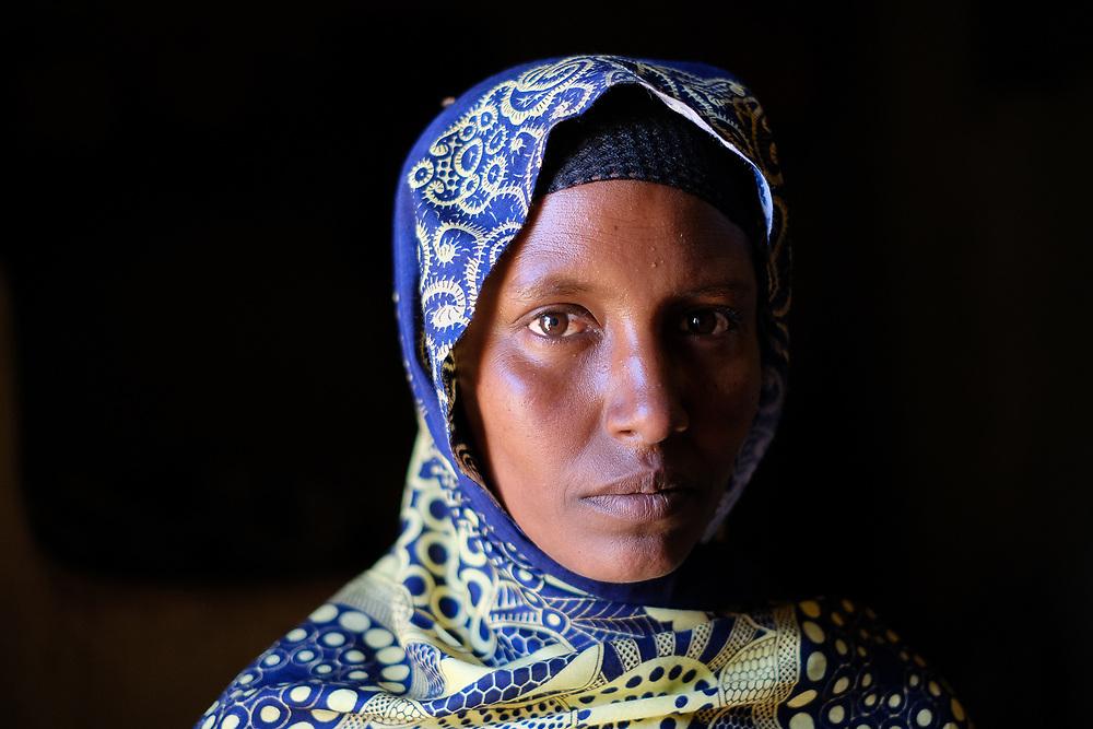 Harari woman portrait, Ethiopia