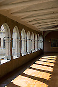 Hallway in Monasterio Hotel, a 16th century Spanish colonial Palace, Cusco, Peru, South America