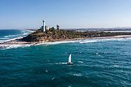 Aerial view of Pt Cartwright, Sunshine Coast, Queensland, Australia