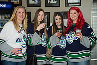 KELOWNA, CANADA - APRIL 25: Fans on April 25, 2017 at Prospera Place in Kelowna, British Columbia, Canada.  (Photo by Marissa Baecker/Shoot the Breeze)  *** Local Caption ***