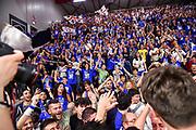 Commando Ultra' Dinamo,<br /> Banco di Sardegna Dinamo Sassari - AX Armani Exchange Olimpia Milano<br /> LBA Serie A Postemobile 2018-2019 Playoff Semifinale Gara 3<br /> Sassari, 02/06/2019<br /> Foto L.Canu / Ciamillo-Castoria