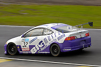 2008 British Touring Car Championship.  Knockhill, Scotland, United Kingdom.  16th-17th August 2008.  (32) - Alan Taylor (GBR) - Robertshaw Racing Honda Integra.  World Copyright: Peter Taylor/PSP. Copy of publication required for printed pictures. Every used picture is fee-liable.