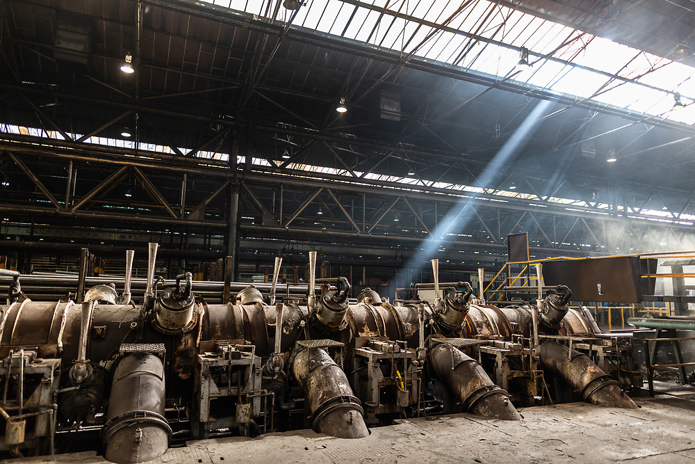 Sept 2015 - Tata Steel , Corby - hot rolling mill for steel tube