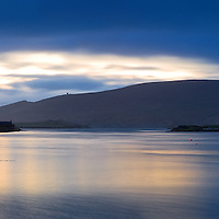 Panoramic View on Valentia Island from Portmagee Harbout, County Kerry, Ireland / vl086