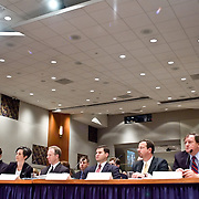 """Panel: """"Outline of the 9/11 Plot."""" The 9/11 Commission's 12th public hearing on """"The 9/11 Plot"""" and """"National Crisis Management"""" was held June 16-17, 2004, in Washington, DC."""