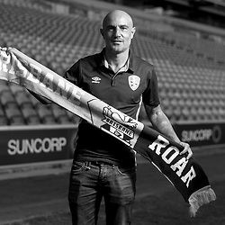 24th July 2017 - Brisbane Roar Press Conference - Massimo Maccarone