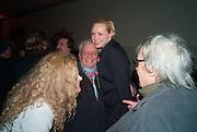 SUZANNE WYMAN; GWENDOLINE CHRISTIE; DAVID BAILEY; BILL WYMAN, Opening of Bailey's Stardust - Exhibition - National Portrait Gallery London. 3 February 2014