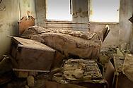 May 20,2007, St. Rita's nursing home in Arabi, Lousiana left in ruin after Hurricane Katrina.