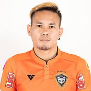 THAILAND - JUNE 25: Kritsada Hemvipat #33 of Nakhonratchasrima Mazda FC on June 25, 2019.<br /> .<br /> .<br /> .<br /> (Photo by: Naratip Golf Srisupab/SEALs Sports Images/MB Media Solutions)