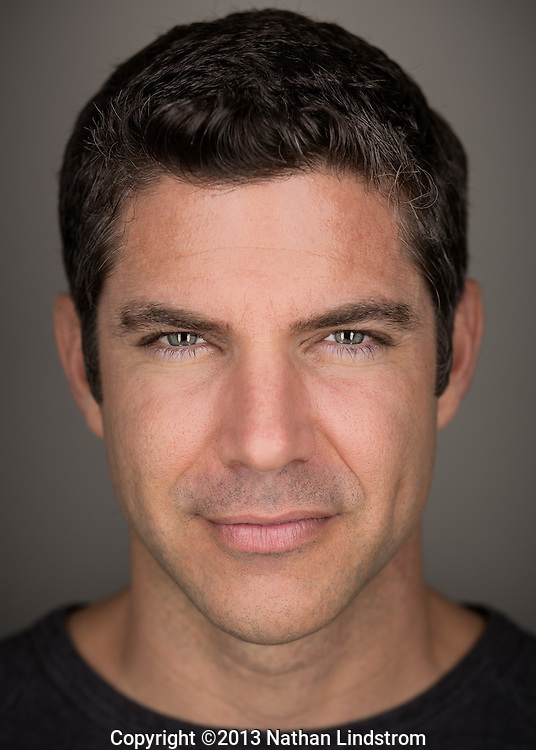 Head shot of Bryan Michell<br /> by advertisement and editorial Houston photographer Nathan Lindstrom