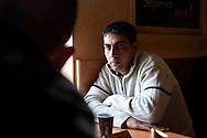 Sinan, auf einer Rasstätte auf der Reise von Bulgarien nach Deutschland