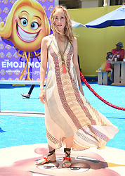 July 23, 2017 - Westwood, California, U.S. - Kim Raver arrives for the premiere of the film 'The Emoji Movie' at the Regency Village theater. (Credit Image: © Lisa O'Connor via ZUMA Wire)