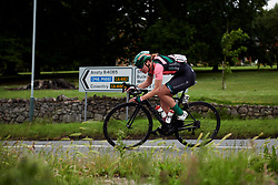 Femke Markus (NED) tries to chase down solo leader, Roy at Stage 4 of 2019 OVO Women's Tour, a 158.9 km road race from Warwick to Burton Dassett, United Kingdom on June 13, 2019. Photo by Sean Robinson/velofocus.com