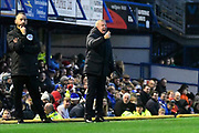 Portsmouth manager Kenny Jackett during the EFL Sky Bet League 1 match between Portsmouth and Ipswich Town at Fratton Park, Portsmouth, England on 21 December 2019.